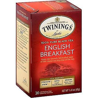 Twinings Of London English Breakfast Pure Black Tea
