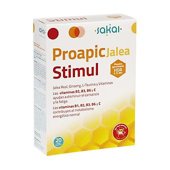 Proapi Royal Jelly Stimul med Ginseng 20 ampuller