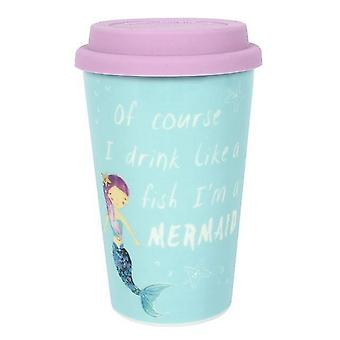 Something Different Mermaid Ceramic Travel Mug