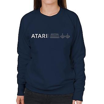 Atari 2600 Slim Logo Women's Sweatshirt