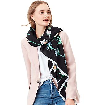 Joules Womens Rowen Lightweight Printed Square Scarf