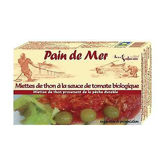 Tuna crumbs in organic tomato sauce 114 g