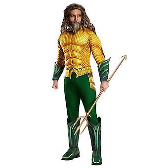 Rubie's Puku Co Elokuva Aikuinen Aquaman Deluxe Puku