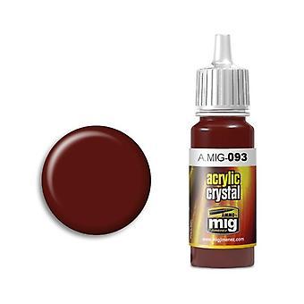 Ammo by Mig Acrylic Crystal Red (17ml)