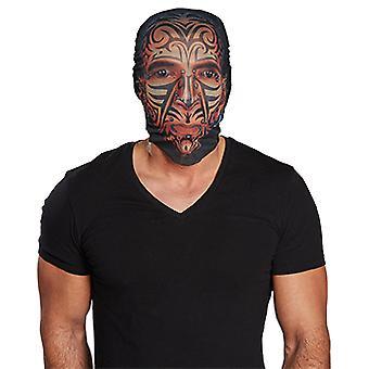 Maskeren van tattoo / riemen voor hoofd accessoire carnaval carnaval SCREAMER ribbelst