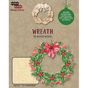 IncrediBuilds Holiday Collection Wreath by Incredibuilds