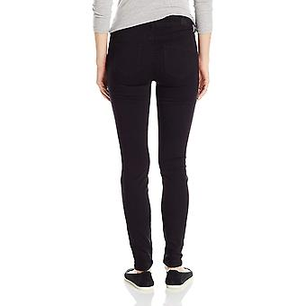 Celebrity Pink Jeans Kvinder's Infinite Stretch Mid Rise Skinny Jean, Black Rin...