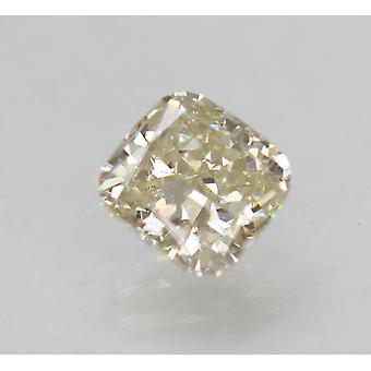 Certified 1.23 Carat L VS1 Cushion Enhanced Natural Loose Diamond 5.99x5.78m 2VG