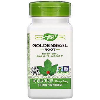 Nature's Way, Goldenseal Root, 1,140 mg, 100 Vegan Capsules