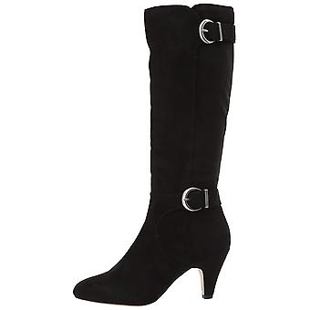 Bella Vita Womens Toni Ii Fabric Pointed Toe Knee High Fashion Boots