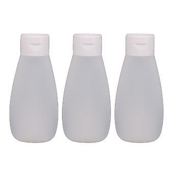 120ML PE Clamshell Type Travel Bottles  of 3