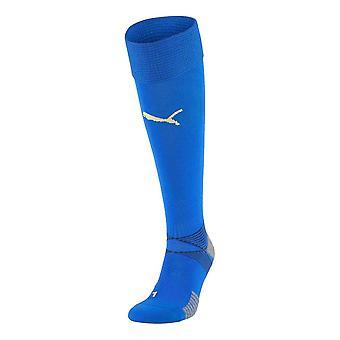 2020-2021 Italia Home Puma Calcetines de Fútbol (Azul)