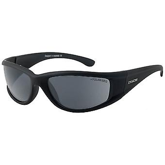 Dirty Dog Banger Satin Polarised Sunglasses - Black/Grey