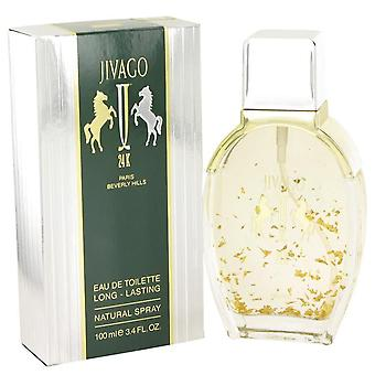Jivago 24k Eau De Toilette Spray By Ilana Jivago 3.4 oz Eau De Toilette Spray