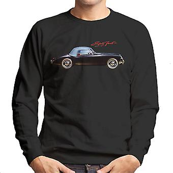 MG Safety Fast British Motor Heritage Men's Sweatshirt