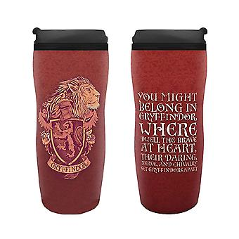 Harry Potter Travel Mug Gryffindor Crest nouveau rouge officiel 355ml plastique