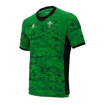 2020-2021 Wales Training Rugby Jersey (Verde)