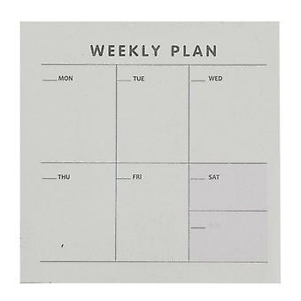 Haven Weekly Planner List Pad