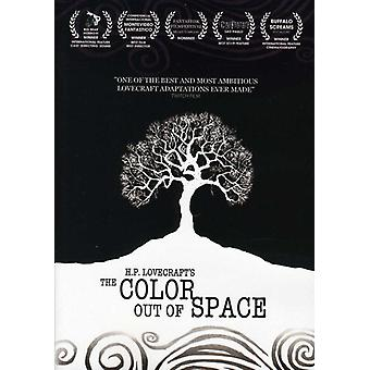 The Color Out of Space [DVD] USA import