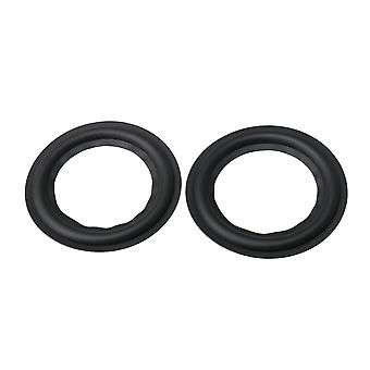 2pcs 3 Inch Rim Repair Woofer Bass Loudspeaker Surrounds Circle Foam
