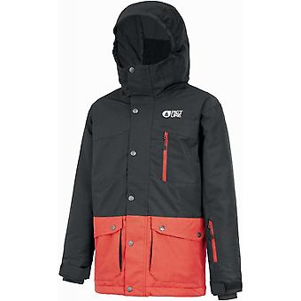 Picture Kid's Marcus Jacket - Black/Red