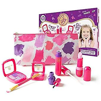 Pretend makeup essentials set for girls from the exclusive glamour girl collection [toy] ages 3 4 5