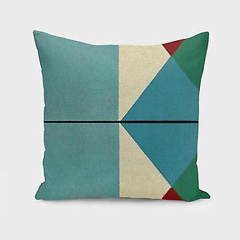 Geometryczne myśli poduszka / poduszka