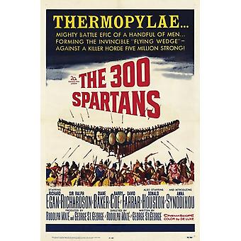 The 300 Spartans Movie Poster (11 x 17)