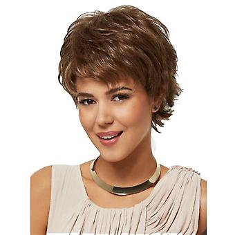 Women's New Wig Women's Fashion Brown Short Straight Hair Wig Sheath Wholesale