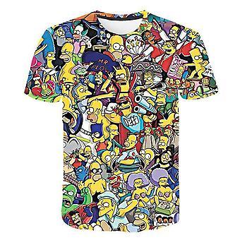 3d Print Bart Simpson House Clothing Homer Simpsons Sweatshirt/women