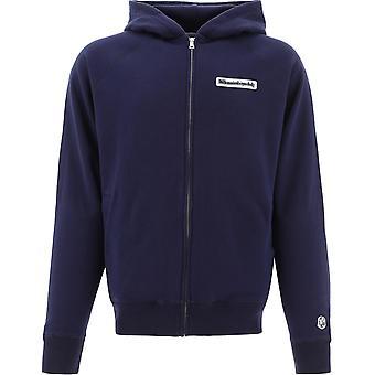 Billionaire B19446navy Men's Blue Cotton Sweatshirt