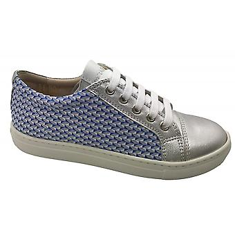 PETASIL Laced & Zipped Trainer Style Shoe
