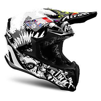 Airoh Twist Motorcycle Helmet Replacement Peak Crazy Black PEAK ONLY