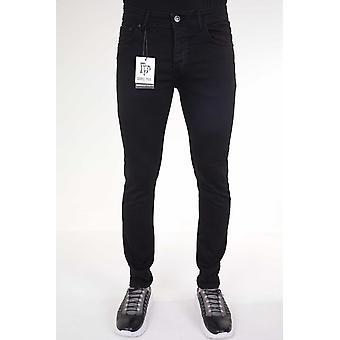 Neat Stretch Pants - Slim Fit - 5412 - Black