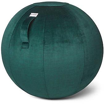 Vluv Varm Samt-Sitzball Durchmesser 60-65 cm Forest