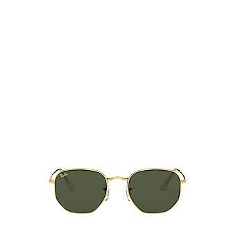 Ray-Ban RB3548 legenda óculos de sol unissex de ouro