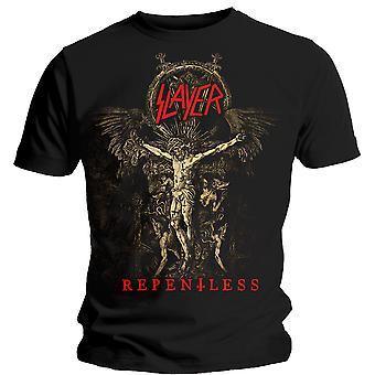 Slayer Cruciform Skeletal Official Tee T-Shirt Mens Unisex