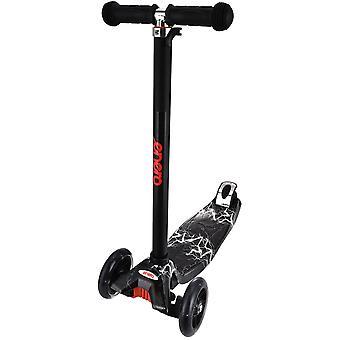 Tricycle scooter Black Thunder - RODAMIENTOS ABEC7 - 47x23x78-90 cm