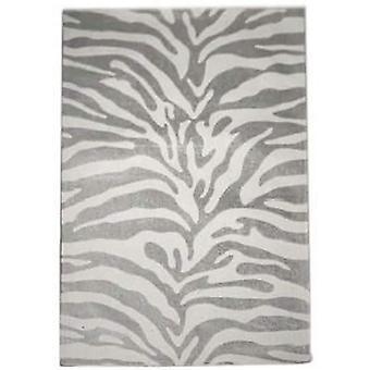 Spura Home Håndlavet Zebra Animal Mønster Overgangsordning 5x8 Område Tæppe med tæppe