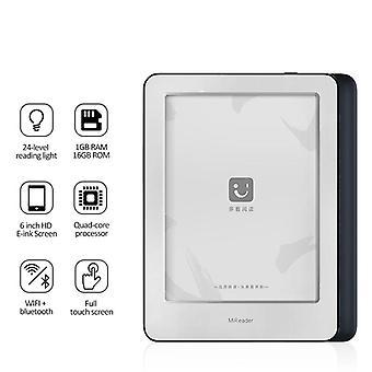 EBook-leser, Android Hd 6-tommers Wifi Bluetooth elektronisk nettbrett