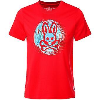 Psycho Bunny Crew Neck Downey T-Shirt