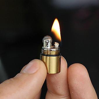 Mini Compact Kerosene Lighter Capsule Gasoline