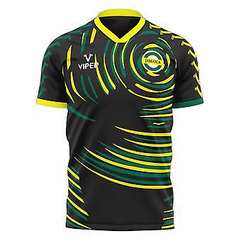 Jamaica 2020-2021 Away Concept Football Kit (Viper)