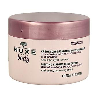 Nuxe Body Firming Melting Cream 200 ml of cream (Coconut - Floral)