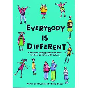 Everybody is Different by Fiona Bleach - 9781931282062 Book