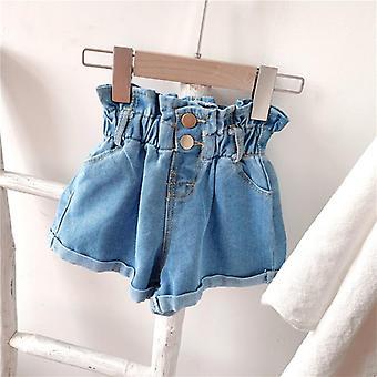 Girl Summer Kids Jeans Denim Shorts