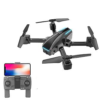 Wifi fpv 4k camera rc drone dual gesture photo/video optical flow positioning headless mode quadcopter