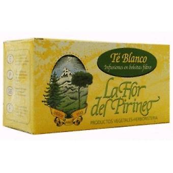 La Flor del Pirineo Te Blanco Infusion 25 unidades