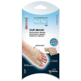 Herbi Feet Dupliband Protector Bunion plus Separator