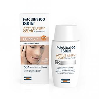 Isdin Active Unify Color Photoprotector Fluid fusion spf 50+ 50 ml